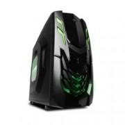 Кутия Raidmax VIPER GX, ATX/Micro ATX, 2x USB3.0, черна/зелена, без захранване