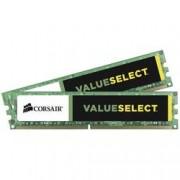 Corsair Sada RAM pro PC Corsair Value Select CMV8GX3M2A1600C11 8 GB 2 x 4 GB DDR3 RAM 1600 MHz CL11 11-11-30