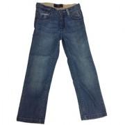Prime Corporation Blue Denim Solid Jeans material cotton