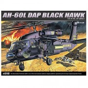 Academy 12115 AH-60L DAP BLACK HAWK Helicopter Plastic Model Kit by Academy Models