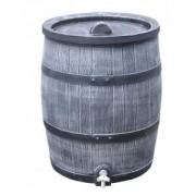 Roto kunststof regenton 120 liter grijs
