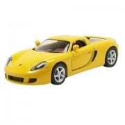 """Kinsmart - 4.5"""" Porsche Carrera GT (Yellow)"""