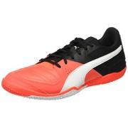 Puma Men's Gavetto Sala Red Blast, Puma White and Puma Black Indoor Multisport Court Shoes - 10 UK/India (44.5 EU)