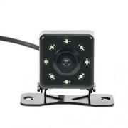 KUMEED Car Alarm Backup Camera HD Night Vision Waterproof Front/rear View Vehicle Backup Cameras 8 LED 170 Degree View Angle