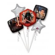 Vegaoo.es Pack globos aluminio Star Wars VII