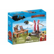 Playmobil Dragons - Gobber si lansatorul de oi