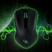 ROSEWILL Gaming Mouse Gaming Mice for Computer / PC / Laptop / Mac Book with Advanced Optical Gaming Sensor and User-Friendly Design with side buttons (RGM-400)