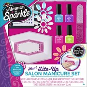 Cra Z Art Shimmer and Sparkle Manicure Magic Lite up Nail Dryer & Polish Set