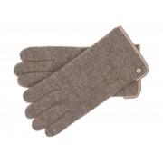 Roeckl Klassischer Damen Walkhandschuh aus Schurwolle, Taupe (140) 20,5 cm (7,5)