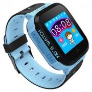 Ceas smartwatch copii ART B2 Blue, SIM, Full Touchscreen, GPS, SOS, Lanterna