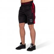 Gorilla Wear Shelby Shorts - Zwart/Rood - M