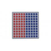 Schubi ABACO 100, rot / blau, Blöcke