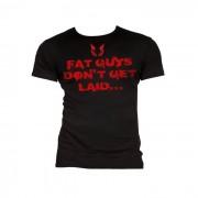 Black Madness FAT GUYS T-Shirt Herr Svart