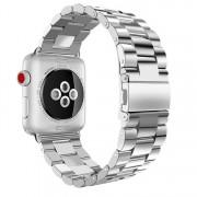 SERO Armband För Apple Watch I Rostfritt Stål, 42/44mm, Silver