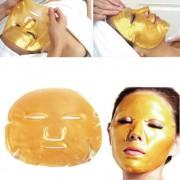 Masca antirid cu cristale de colagen si praf de aur