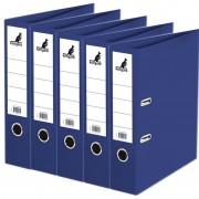 Kangaro 5x Ringmappen/ordners donkerblauw A4 75 mm
