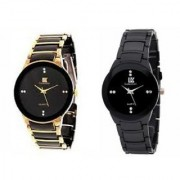 IIK Collection Stylish Casual Watches For Mens- Combo