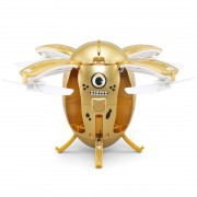 JJR/C H65 GG Flying Egg 2.4GHz RC Drone Helicopter with Remote Controller & LED Light Altitude Hold Mode Gravity Sensor(Gold)