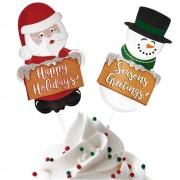 Tårtdekorationer Julen