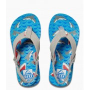 Reef Slippers Little Ahi Blauw