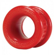 "Oxballs Neo Short 1.25"" Ball Stretcher Red OXCBT241"