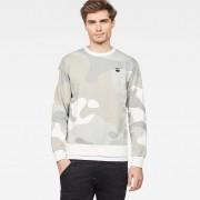 G-Star RAW Oversized Dutch Camo Stalt Deconstructed Sweater
