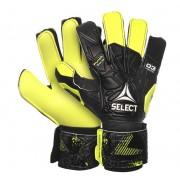 portar manusi Select GK mănuși 03 tineret Plat tăiat negru galben
