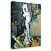 Paul Cézanne: Csendélet angyalka szoborral (20x25 cm, Vászonkép )