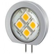 G4 1,2W VarmVit LED-lampa 60lm (3150K) insats