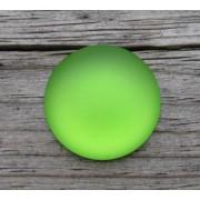 Luna Cabochon - Lime 18 mm, 1 styck