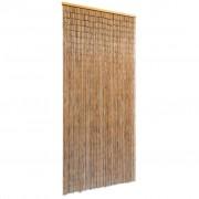 vidaXL Perdea de ușă, 90 x 200 cm, bambus