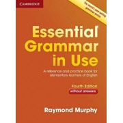 Essential Grammar in Use Without Answers: A Reference and Practice Book for Elementary Learners of English, Paperback/Raymond Murphy