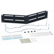 SYSTIMAX GigaSPEED® XL 1100AGS3 Category 6 U/UTP Patch Panel, 48 port, angled w/ termination mgr.