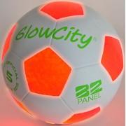 Light Up Soccer Ball - Uses 2 Hi-Bright LED Lights