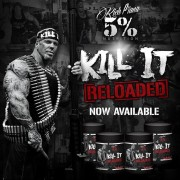 Rich Piana 5% Nutrition Kill It Reloaded edzés előtti stimuláns NO fokozó 513g