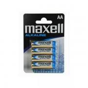 Maxell alk. baterija LR-6/AA, 4 kom