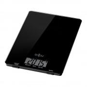 Кухненска дигитална везна SAPIR SP 1651 J, 5 кг, LCD екран, Включена батерия, Черен