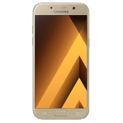"Telefon Mobil Samsung Galaxy A5 (2017), Procesor Octa-Core 1.9GHz, Super AMOLED Capacitive touchscreen 5.2"", 3GB RAM, 32GB Flash, 16MP, 4G, Wi-Fi, Android (Auriu) + Cartela SIM Orange PrePay, 6 euro credit, 4 GB internet 4G, 2,000 minute nationale si inte"