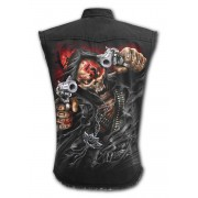 SPIRAL ujjatlan férfi ing - Five Finger Death Punch - ORGYILKOS - G221M609