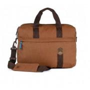 STM Judge Laptop Brief - дизайнерска чанта с дръжки за MacBook и преносими компютри до 15.4 инча (кафяв)