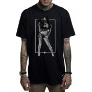 Herren T-Shirt MAFIOSO - JANIE - BLK - MAF008