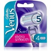 Gillette Venus Swirl Extra Smooth recambios de cuchillas 4 ud