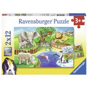 PUZZLE 3Ani+ ZOO, 2x12 PIESE
