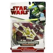 Star Wars Transformers Crossovers - KIT FISTO JEDI STARFIGHTER