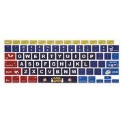 HRH Funda ultrafina para teclado de MacBook Air de 13 pulgadas A2179 2020 con pantalla táctil ID y retina, versión estadounidense