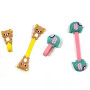 Wrapables Cute Animals Cord Bear/Elephant Organizer/Earphone Wrap (Set of 2)