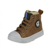 Shoesme Shoesme Halfhoge Jongens Veterschoen, met rits - brown - Size: 30