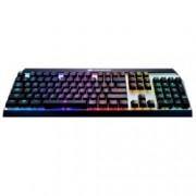 Клавиатура Cougar Gaming Attack X3 RGB, гейминг, подсветка, черна/бяла, USB
