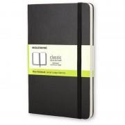 Moleskine QP012 Caderno 192 Folhas Preto