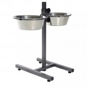 TRIXIE Adjustable Dog Bowl Stand 5.6 L 24 cm 24922